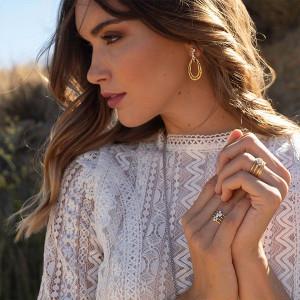 Collar Anartxy Luna Dorado COA229