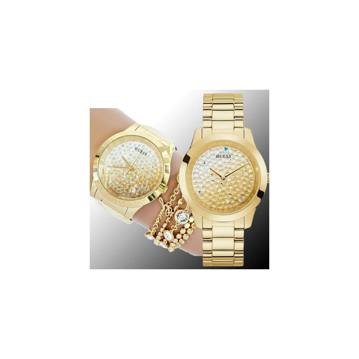 Reloj Guess Crush Dorado Mujer GW0020L2