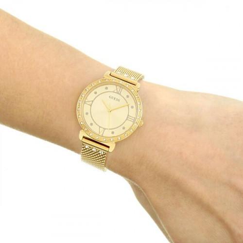 Reloj Guess Jewel Dorado Mujer  W1289L2