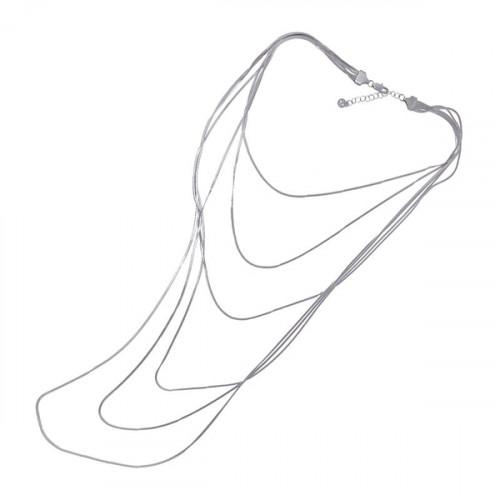 Collar Anartxy 6 Cadenas BCO068PL
