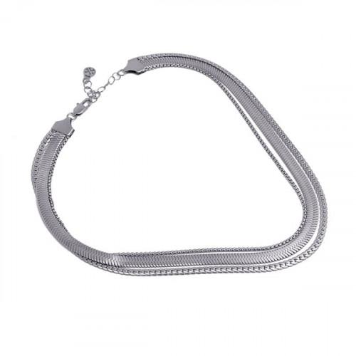 Collar Anartxy Snake BCO069PL