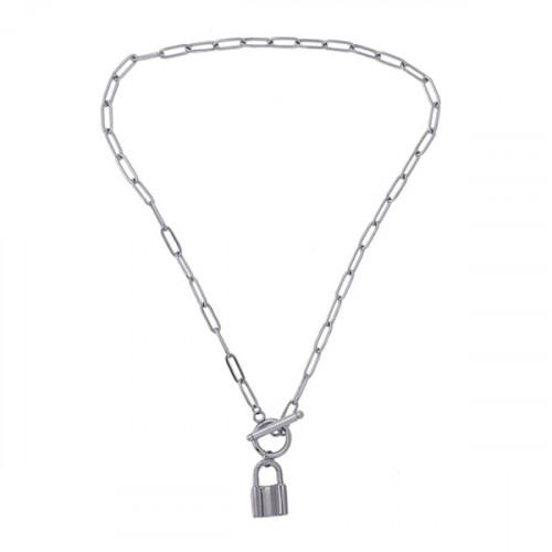Collar Anartxy Candado BCO142PL