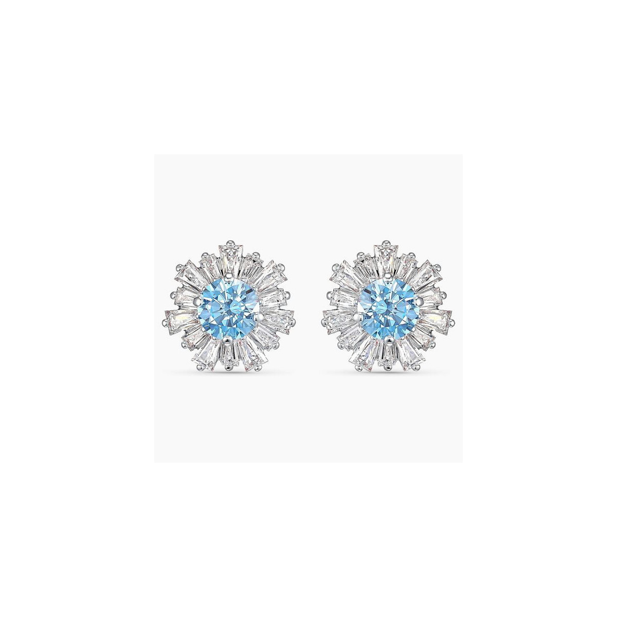 Pendientes Swarovski Sunshine Azul 5536741
