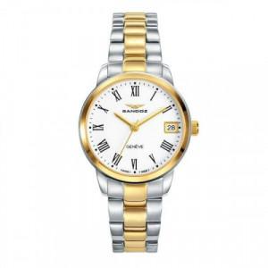 Reloj Sandoz Bicolor Dorado Mujer 81342-93