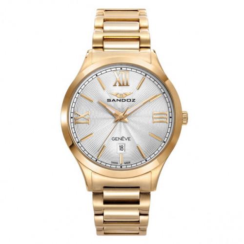 Reloj Sandoz Dorado Unisex 81368-03