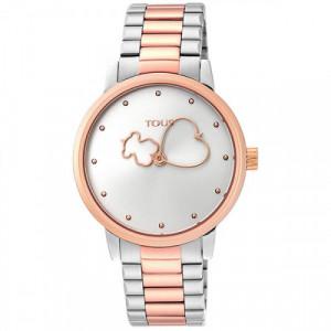 Reloj Tous Bear Time Bicolor IP Rosado 900350315