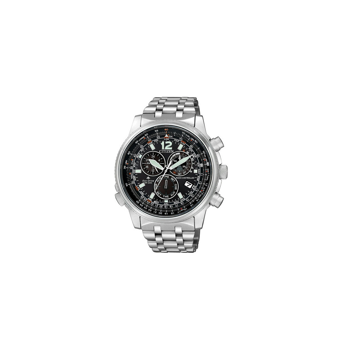 Reloj Citizen Crono Pilot E660 Radiocontrolado Hombre CB5860-86E