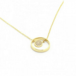 Collar Swarovski Duo Evil Eye 5172560