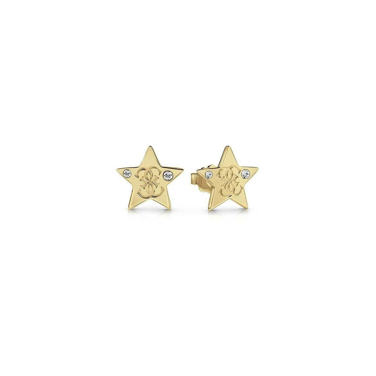 Pendientes Guess Dorado Estrella UBE28020