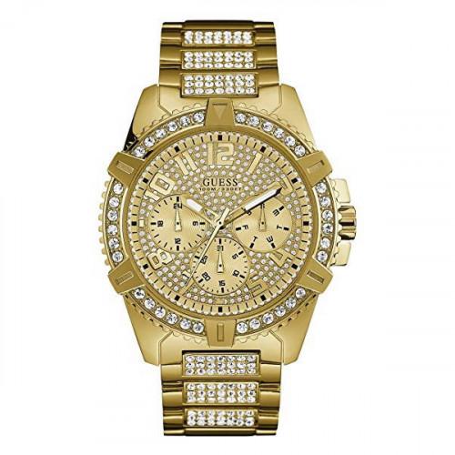 Reloj Guess Frontier Gents Dorado W0799G2