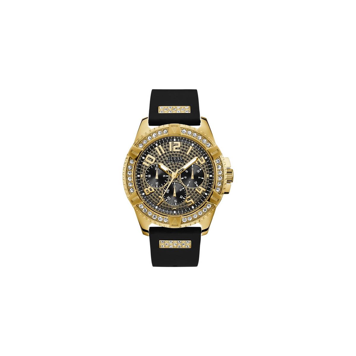 Reloj Guess Frontier Dorado Hombre W1132G1