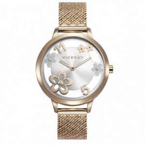 Reloj Viceroy Kiss Dorado Mujer 471296-05