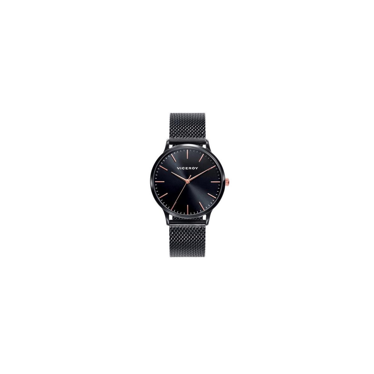 Reloj Viceroy Mujer Malla Milanesa Negro 461096-57