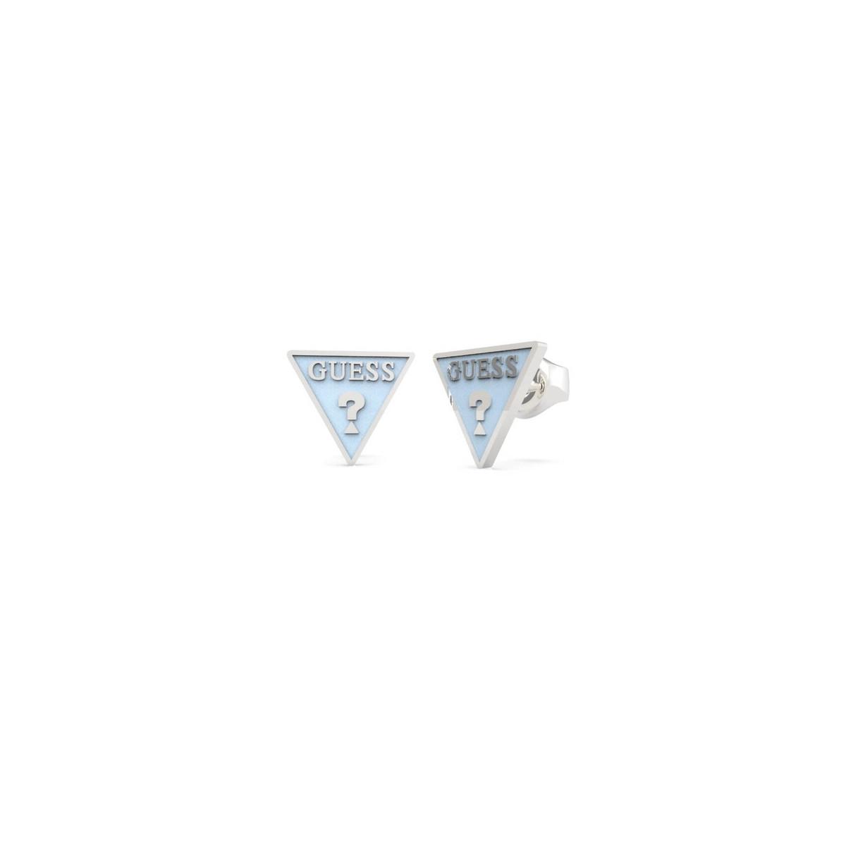 Pendientes Guess Triángulo Azul UBE70123