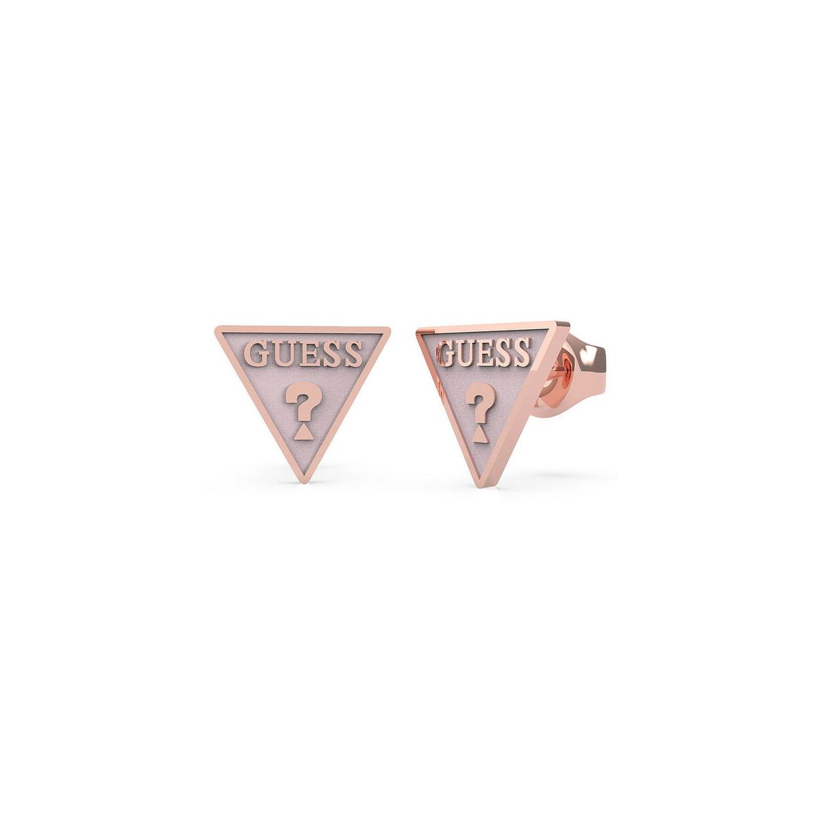 Pendientes Guess Triángulo UBE70122