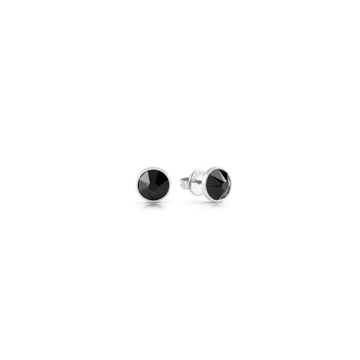 Pendientes Guess Crystal Black UME70018