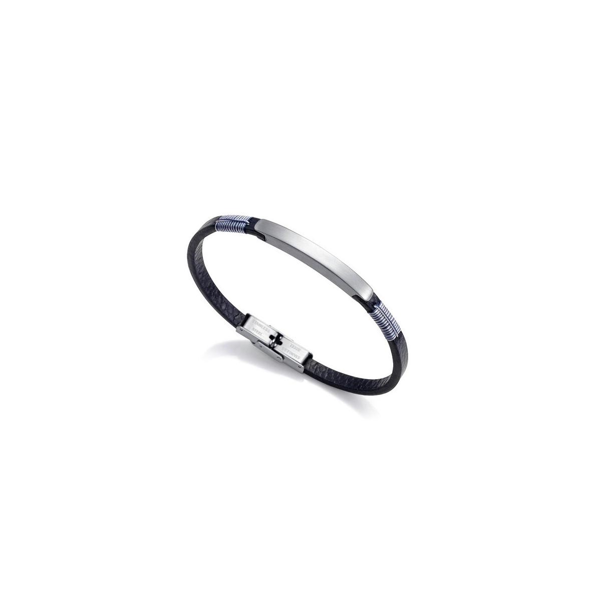 Pulsera Viceroy Piel Azul 1315P01010