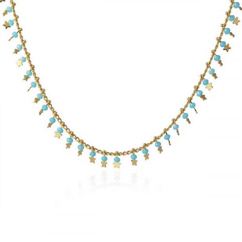 Collar Anartxy Estrellas Azul BCO100AZU