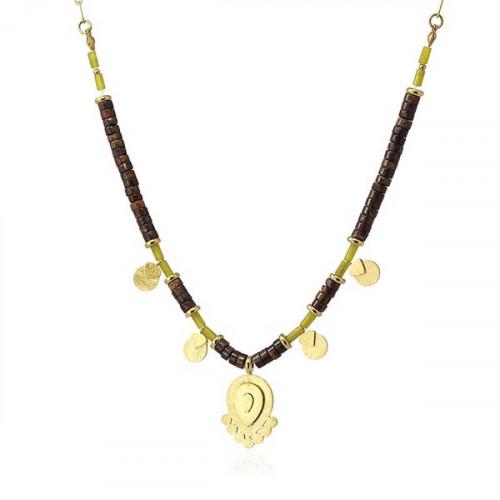Collar Anartxy Marrón COA988MR