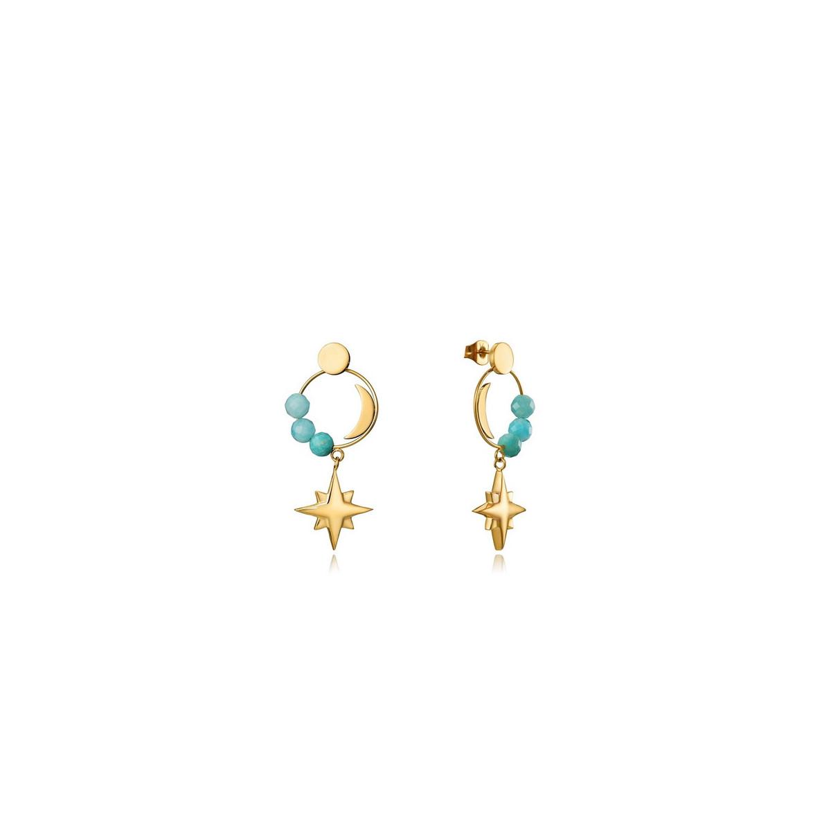 Pendientes Viceroy Dorado Estrella 15103E01012