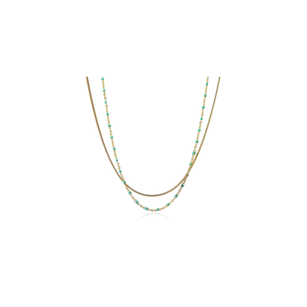Collar Anartxy Dorado BCO147AT