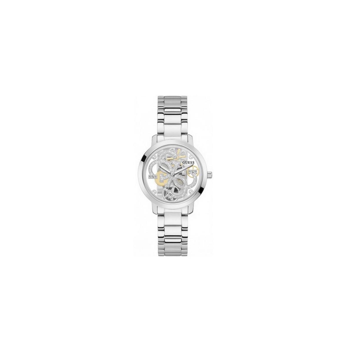 Reloj Guess Quattro Clear GW0300L1