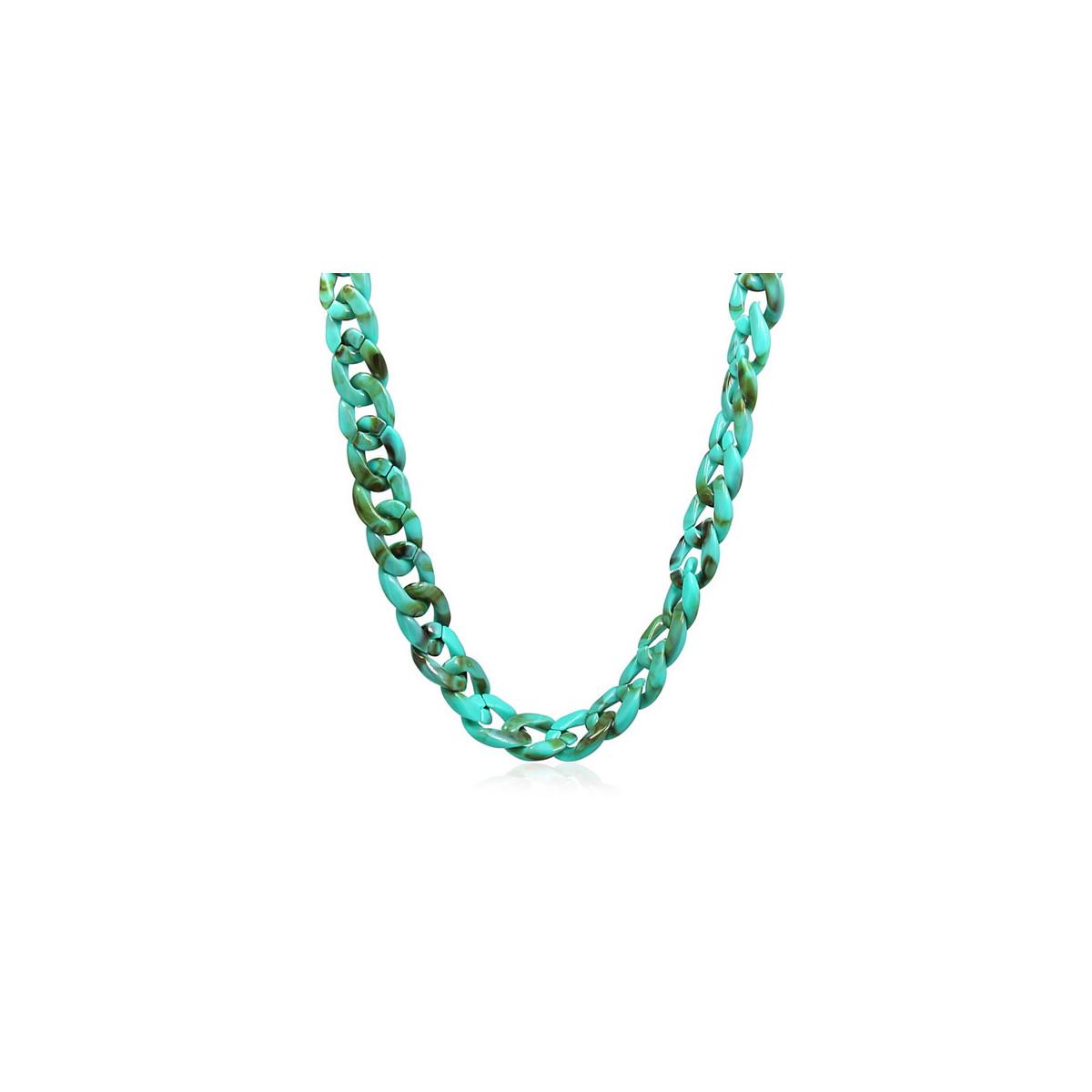 Collar Anartxy Resina Azul BCO159AT