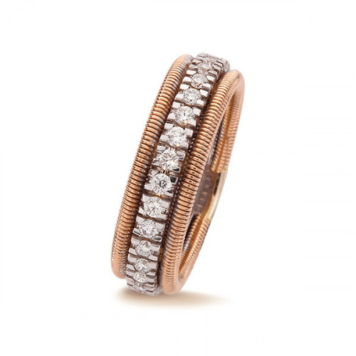 Anillo VJ Diamonds Line