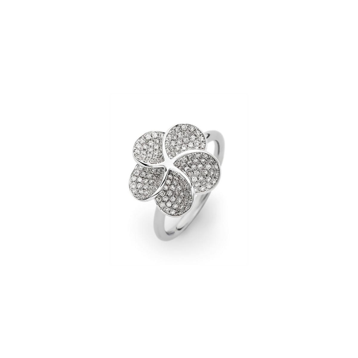 Anillo de Pedida VJ Diamond Flower
