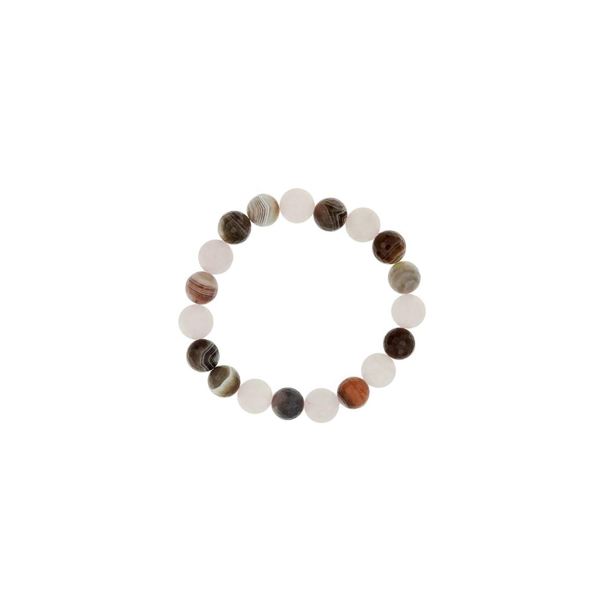 Arrecife Collection - Pulsera Cuarzo - Agata Botsuana