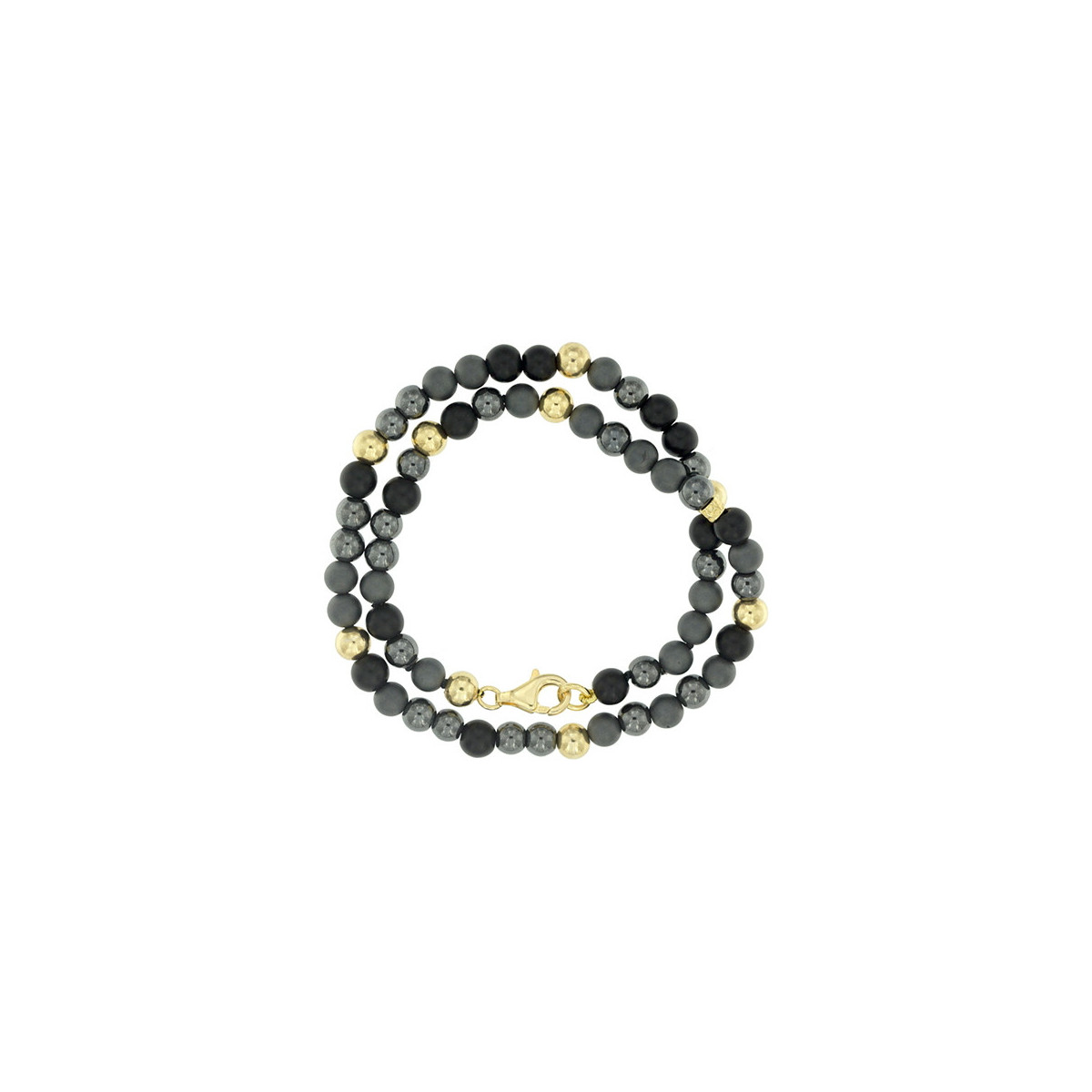 El Cabo Collection - Hematite, Ónix y Plata dorada