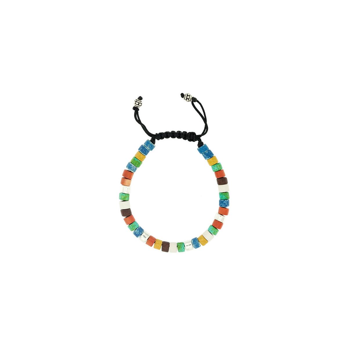 Alhabia Collection - Cerámica Multicolor y Plata 925