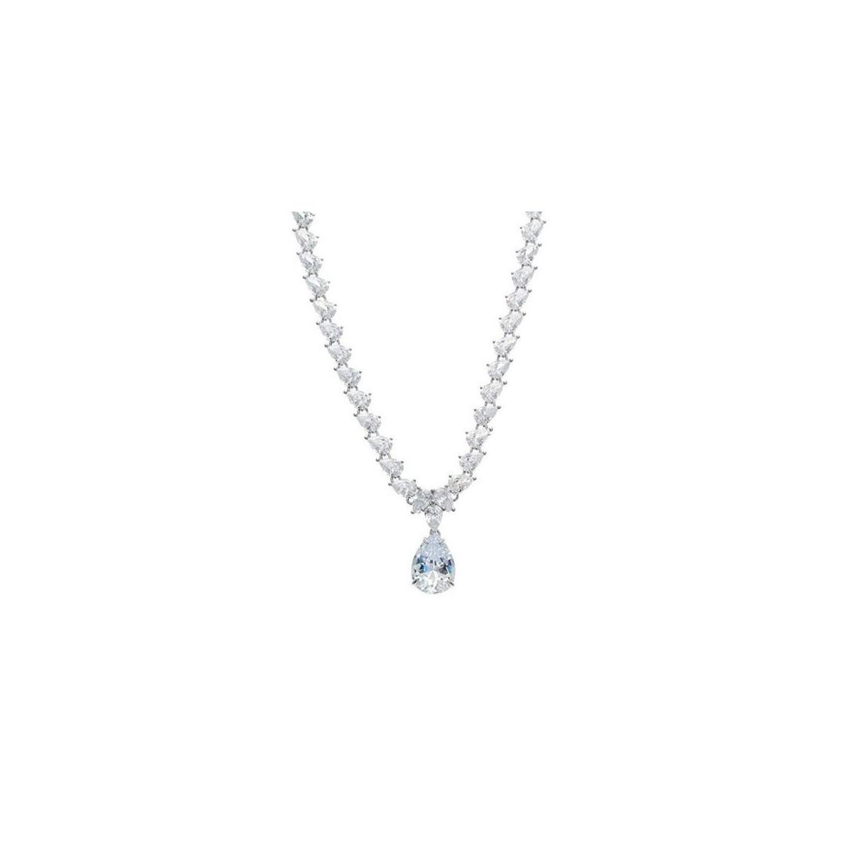 Collar Gargantilla Salvatore Plata Mujer 195C0054