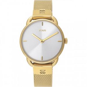 Reloj Tous Let Mesh Dorado 000351495