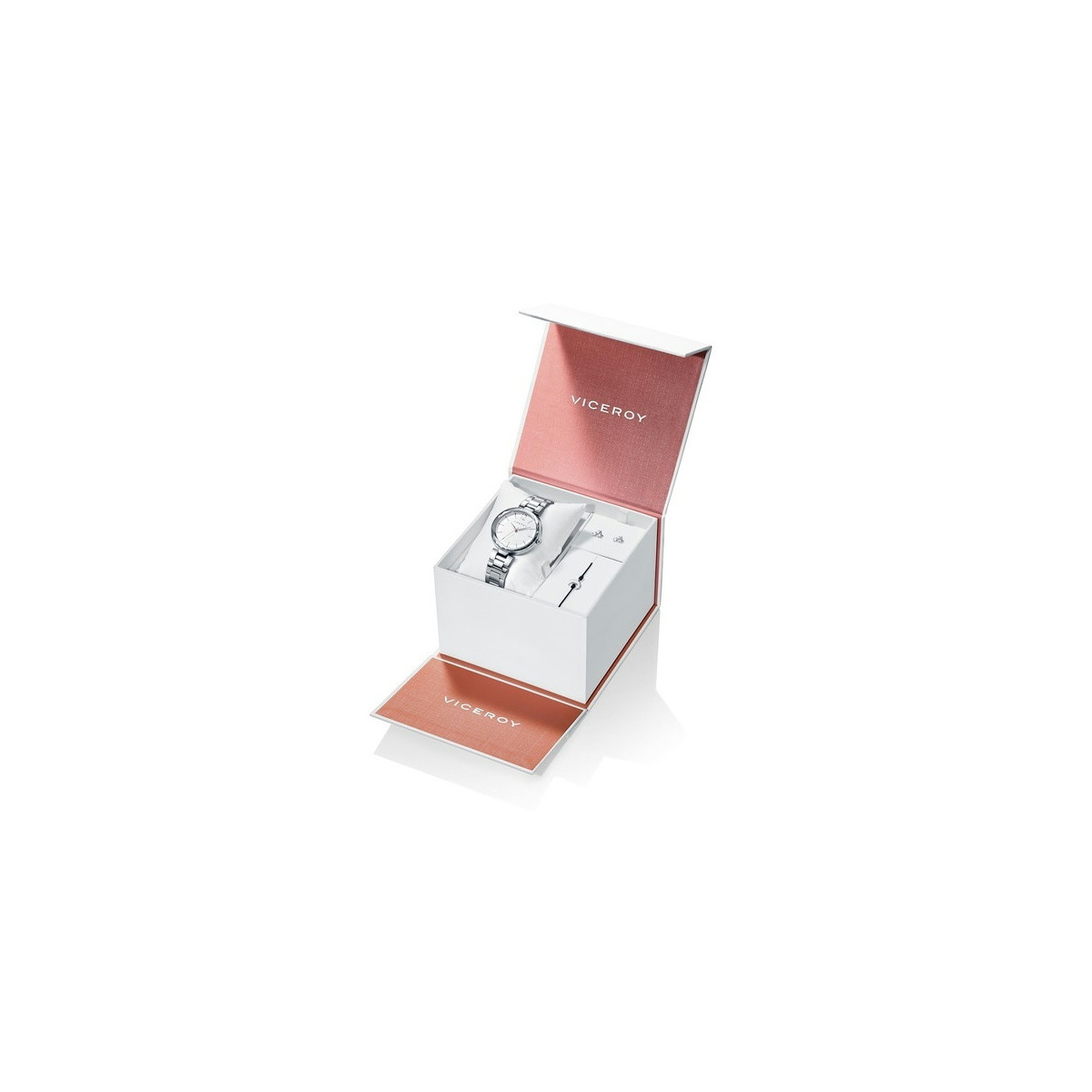 Pack Reloj Viceroy+Pulsera y Pendientes Niña Comunión_401080-07