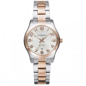 Reloj Viceroy Bicolor Rosa Mujer 401086-85