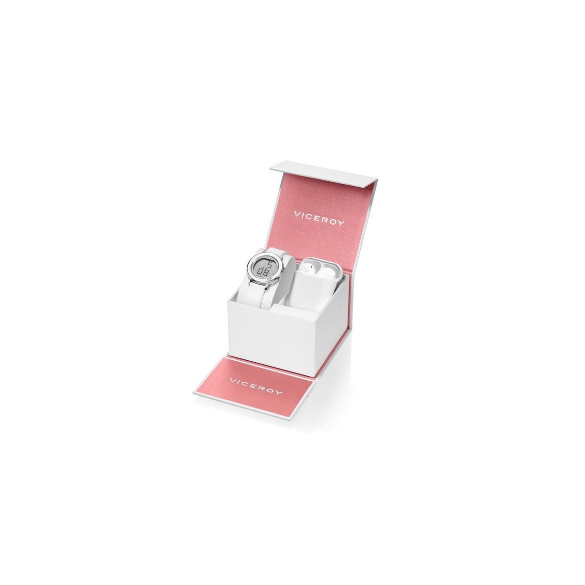 Pack Reloj Viceroy+Auriculares Niña Comunión 401114-00
