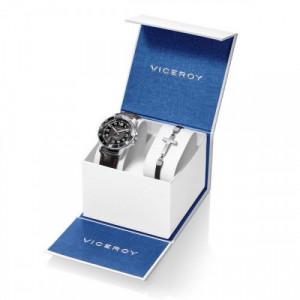 Pack Reloj Viceroy+Pulsera Cruz Niño Comunión 401213-55