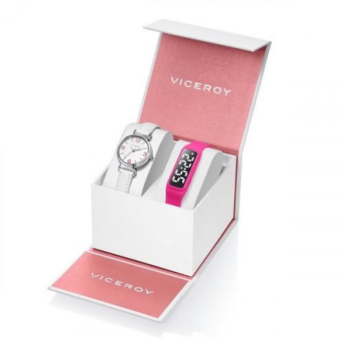 Pack Reloj Viceroy Niña Comunión+SmartBand 461132-05