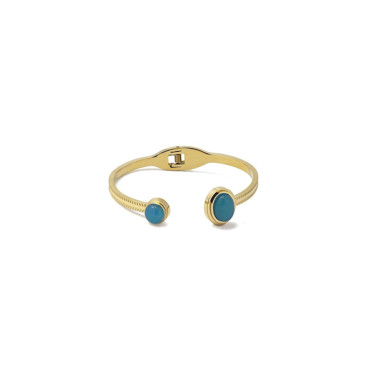 Pulsera Anartxy Jade Azul Mujer APU881AT