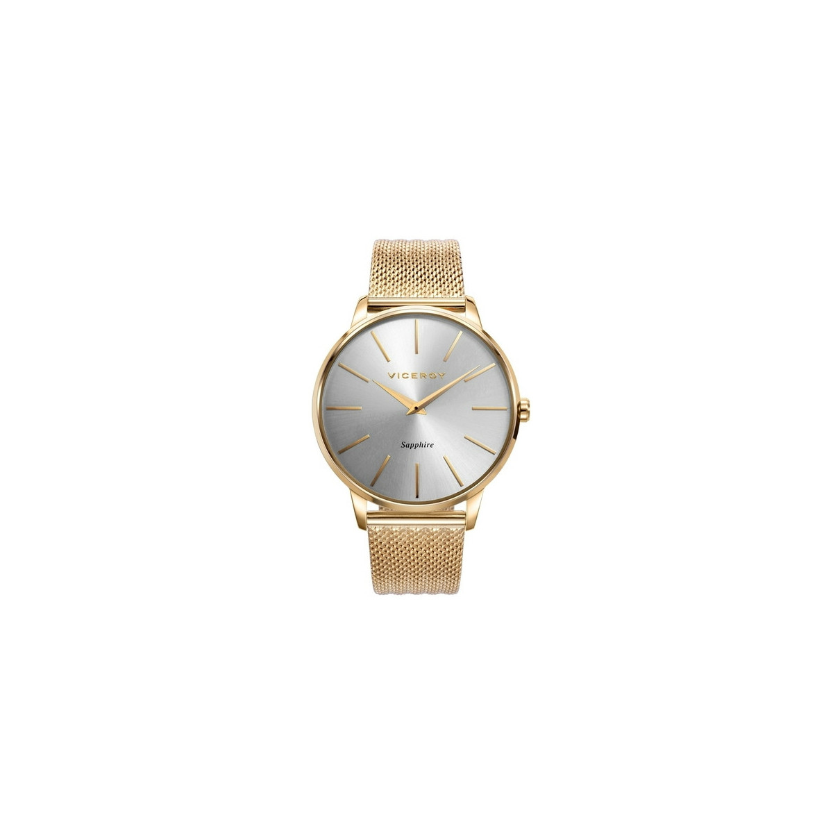 Reloj Viceroy Dress Dorado Correa Malla Hombre 471233-97