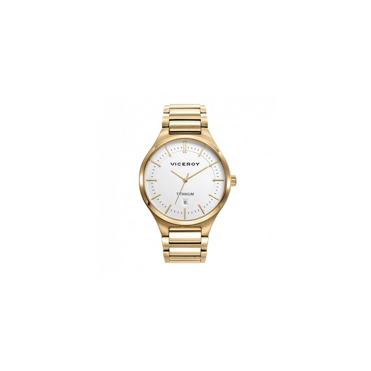 Reloj Viceroy Grand Titanio Dorado Hombre 471237-07