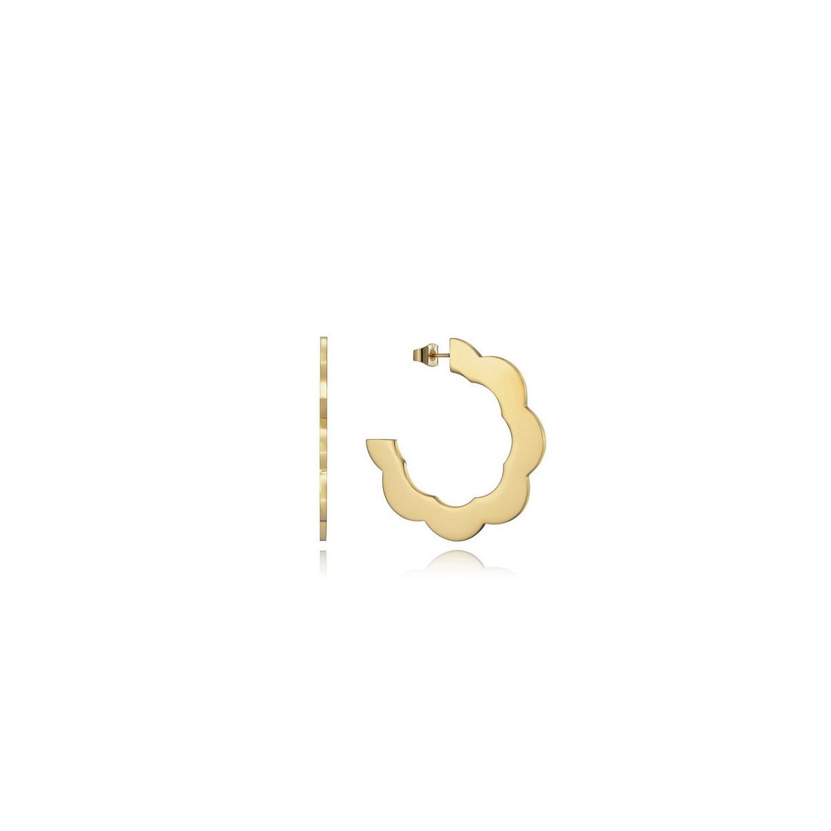 Aros Viceroy Acero Dorado 15112E01012