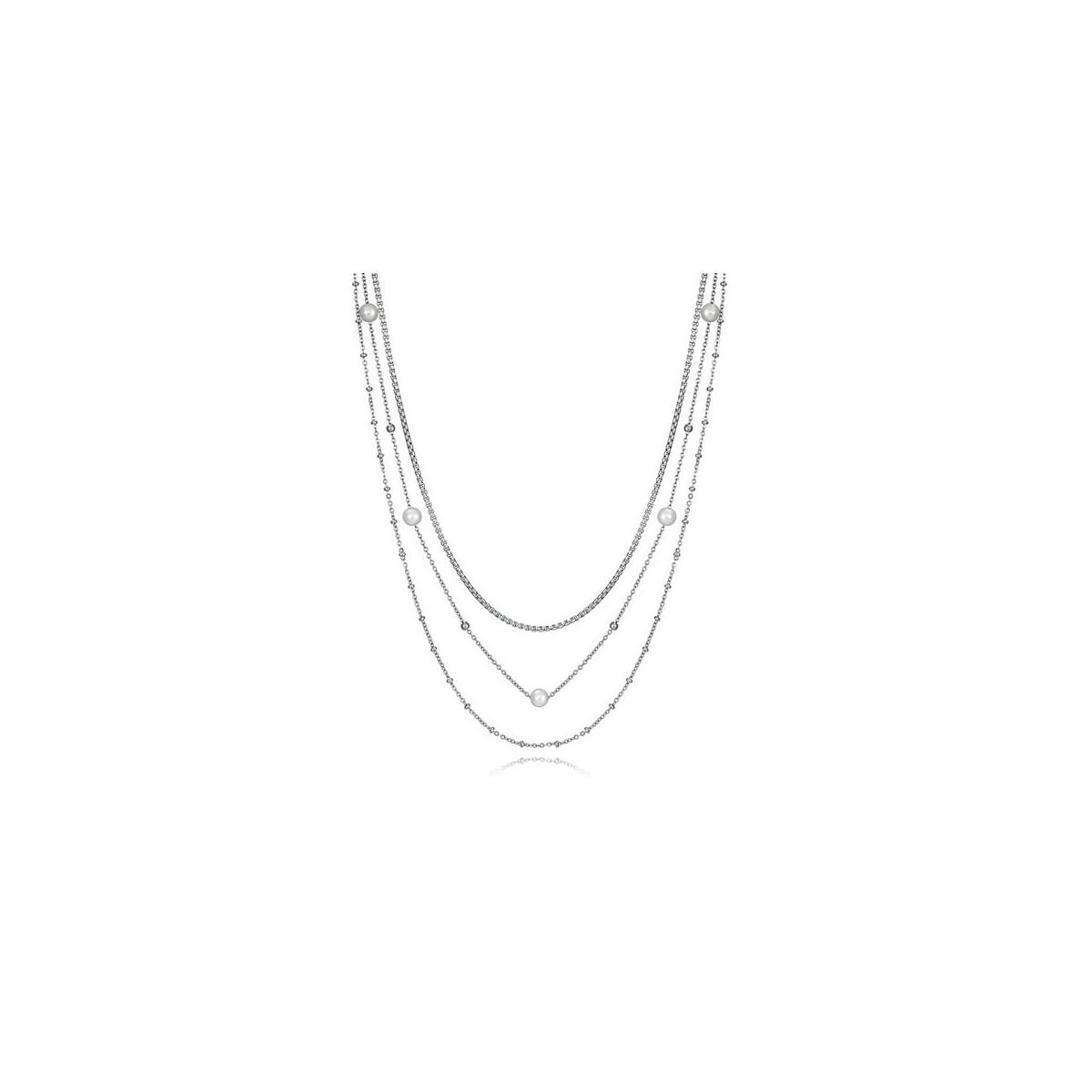 Collar Viceroy Acero Triple 75204C01000