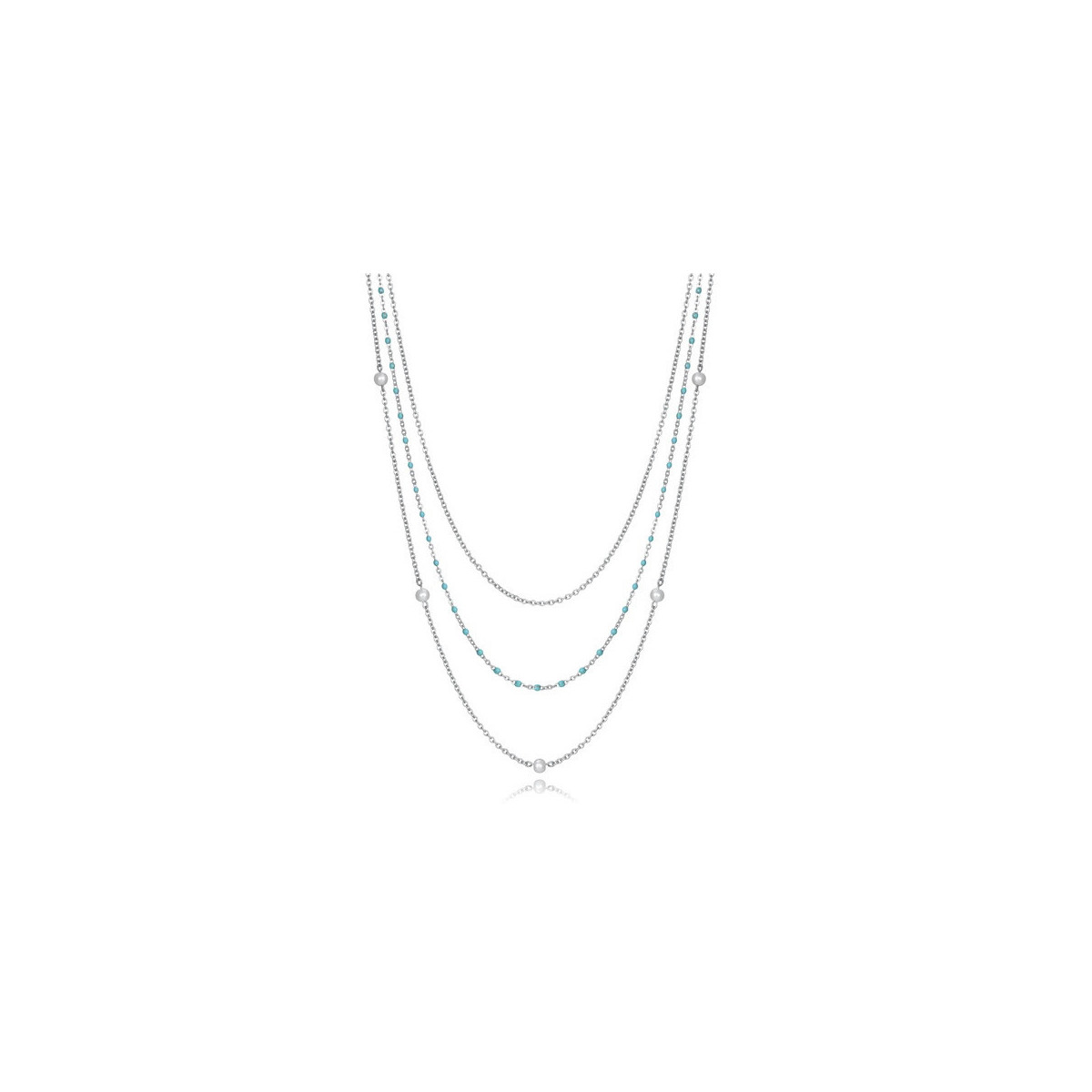 Collar Viceroy Triple Azul 75205C01000