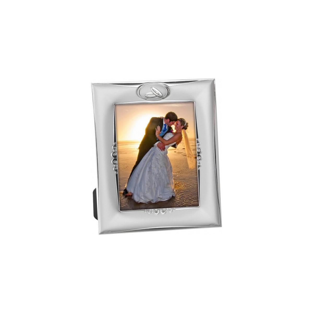 Portafotos Enlace Plata Laminada 13x18 cm