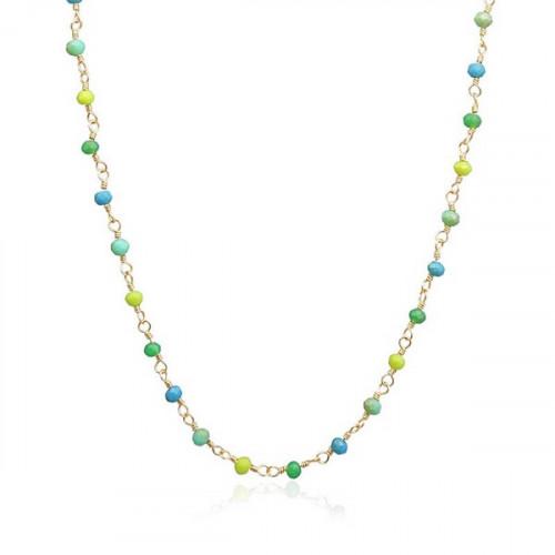 Collar Anartxy Verde BCO173E