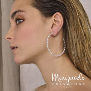 Aros Salvatore Plata Perlas 213A0274